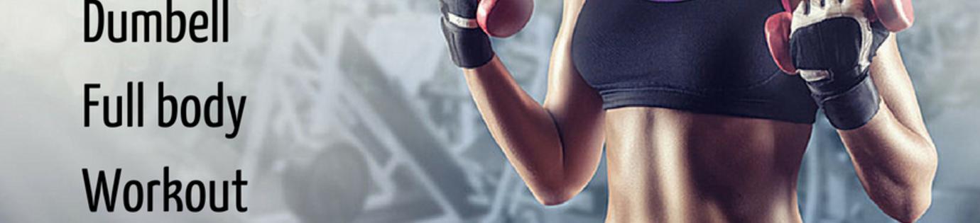 5 unieke oefeningen voor het trainen met dumbells