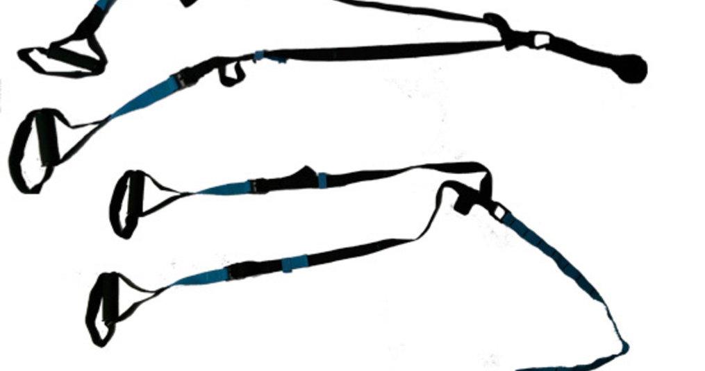 Onderdelen van een suspension trainer