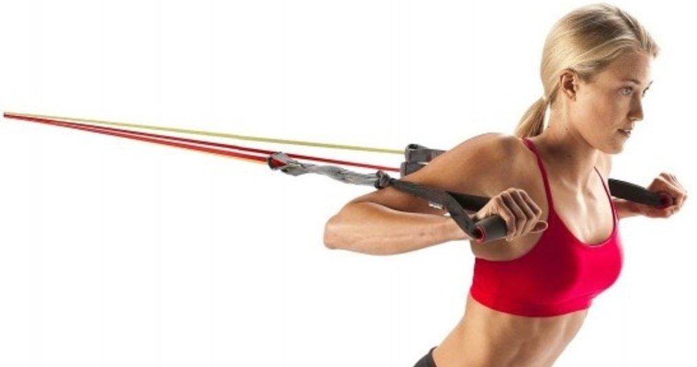 Full body workout met de complete Fitness Elastiek Set