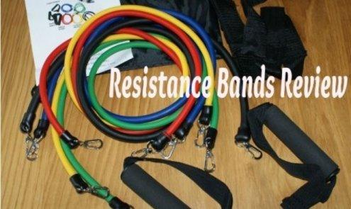 Fitness elastiek oefeningen uitgevoerd door Stacey van Staceyswereld.nl