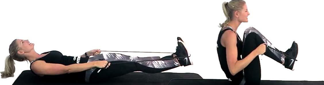 benen fitness elastiek