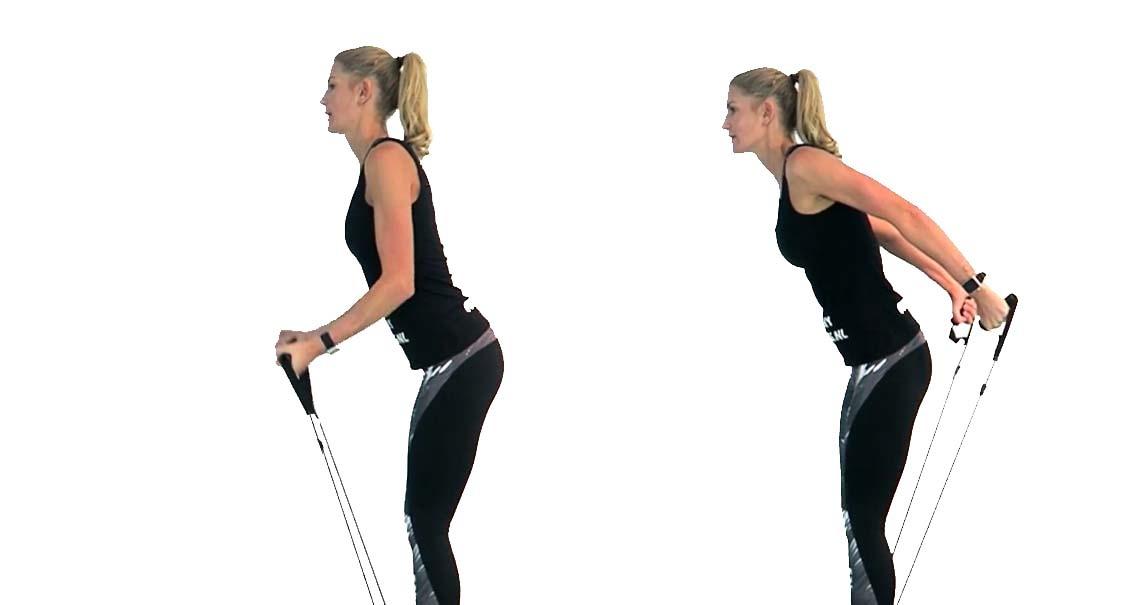 biceps en triceps fitness elastiek