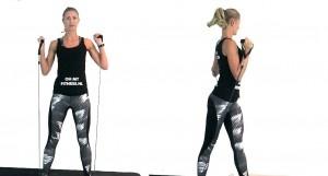 torso en biceps fitness elastiek