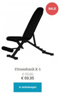 fitnessbank x-1
