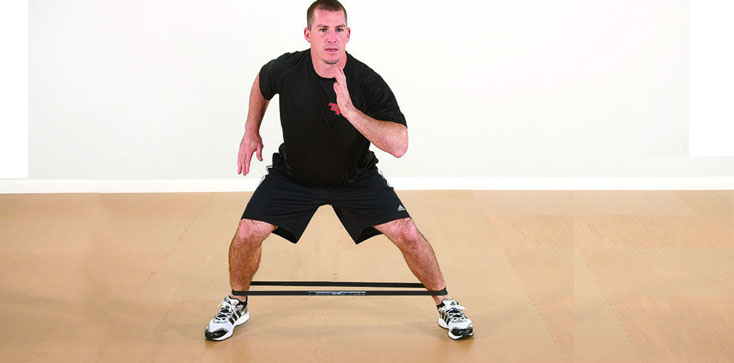 squat elastiek walk