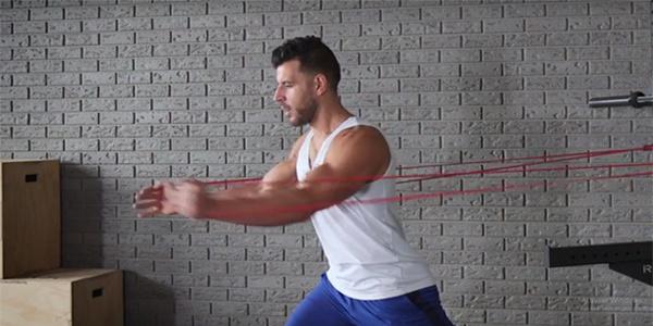 fitness elastiek fly chest