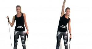 fitness elastiek biceps schouders