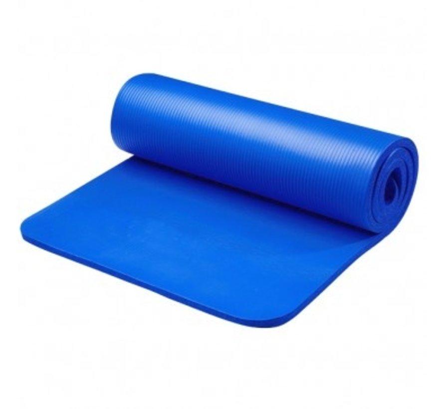 Fitnessmat Blauw