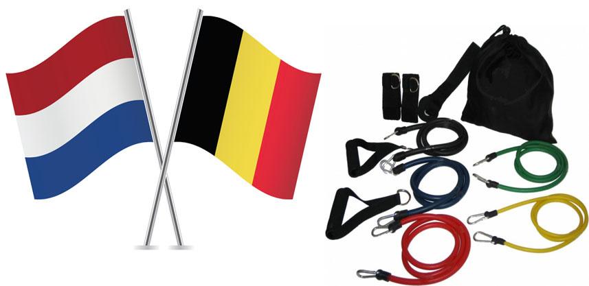 Fitness elastiek belgie