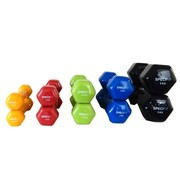 Specifit Complete set Dumbells Gietijzer / Vinyl Coating