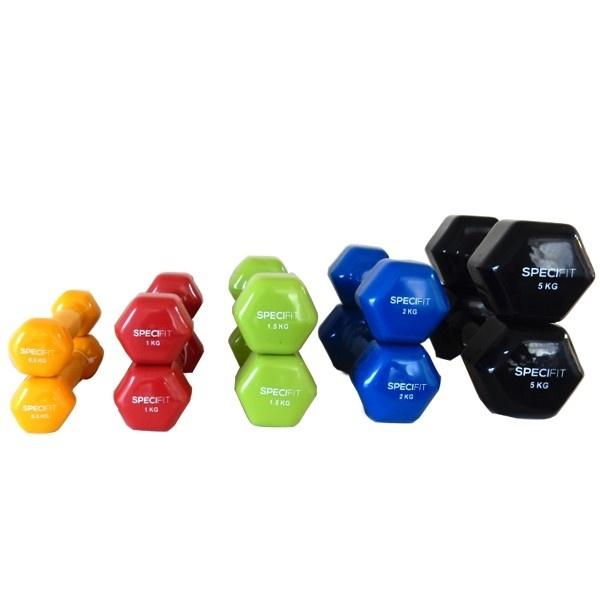 Complete dumbbells set