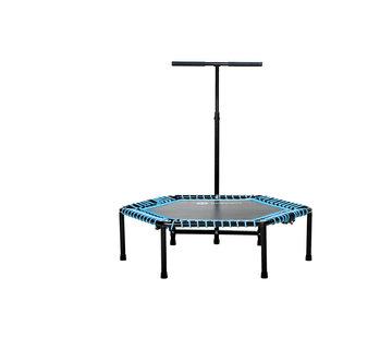 Specifit Fitnesstrampoline Opvouwbaar - Bounce Trampoline met Armsteun
