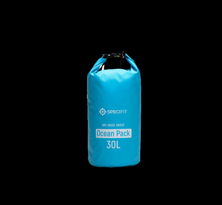Specifit Ocean Pack 30 Liter - Drybag - Waterdichte Tas - Droogtas Blauw