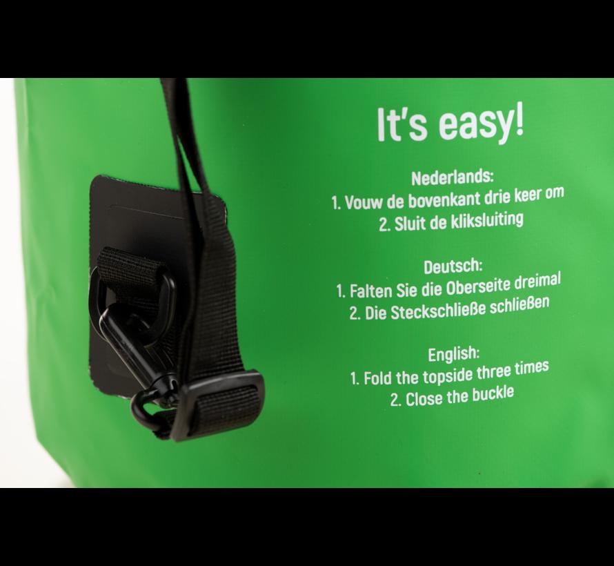 Specifit Ocean Pack 20 Liter - Drybag - Waterdichte Tas - Droogtas Groen