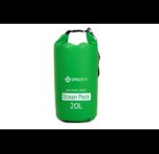 Specifit Specifit Ocean Pack 20 Liter - Drybag - Waterdichte Tas - Droogtas Groen