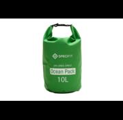 Specifit Specifit Ocean Pack 10 Liter - Drybag - Waterdichte Tas - Droogtas Groen