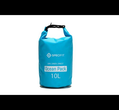 Specifit Specifit Ocean Pack 10 Liter - Drybag - Waterdichte Tas - Droogtas Blauw