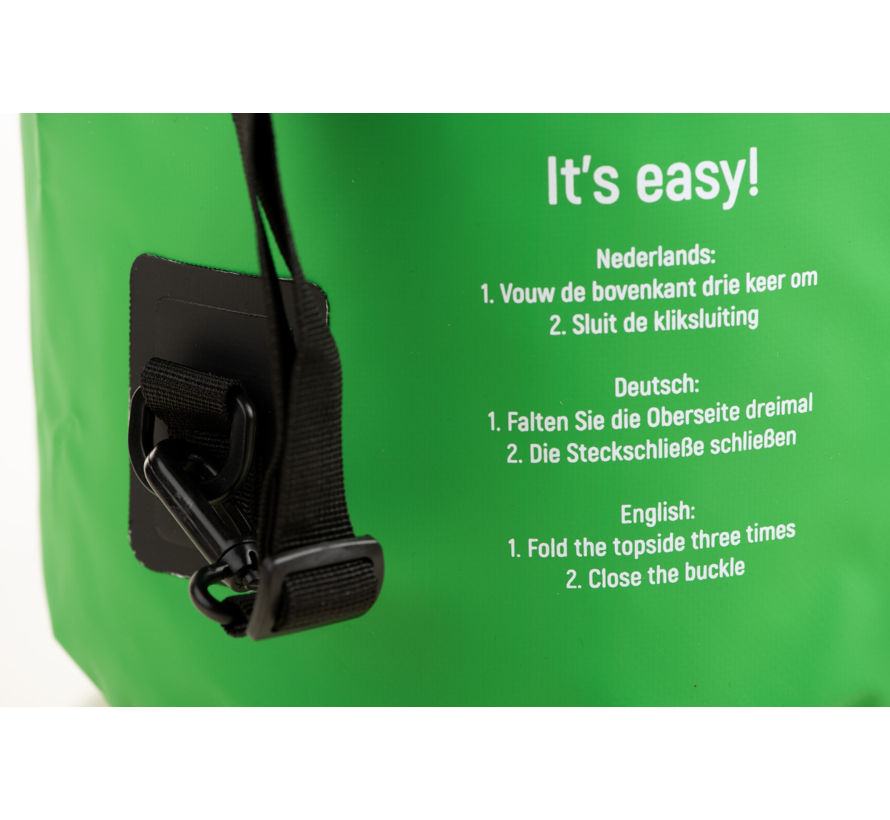 Specifit Ocean Pack 5 Liter - Drybag - Waterdichte Tas - Droogtas Groen