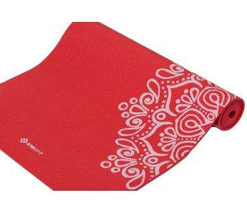 Specifit Specifit Yogamat Marrakech Rood - Fitnessmat 170 x 60 cm met Opdruk