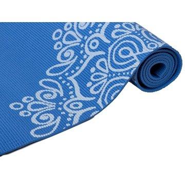 Specifit Specifit Yogamat Marrakech Blauw - Fitnessmat 170 x 60 cm met Opdruk