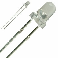 LED 3 mm helder blauw