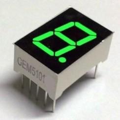 "7 Segment Display Groen, 0.56"" CC"