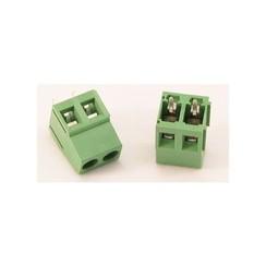 Printconnector met schroefbevestiging 2 voudig