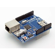 Ethernet Shield W5100 met micro SD-card reader