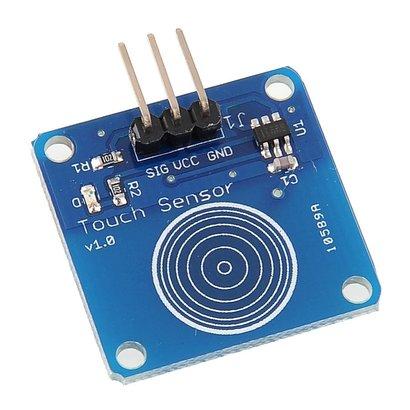 Touch Sensor 1 Kanaal, Geschikt voor Arduino