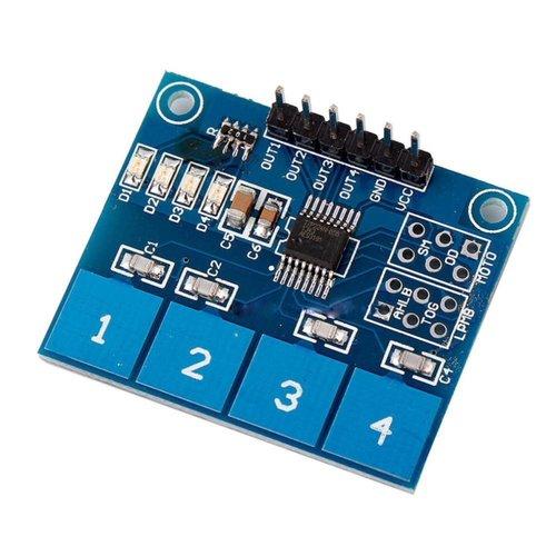 Tocuh Sensor 4 Voudig, Klein Formaat