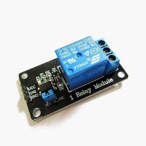 1 Kanaal Relais Module, geschikt voor Arduino