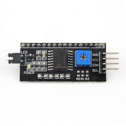 I2C Interface Board voor LCD Displays