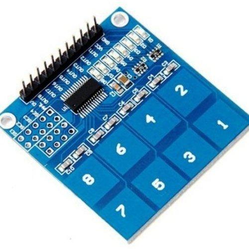 Touch Sensor 8 Voudig, Gebaseerd op de TTP226 Chip