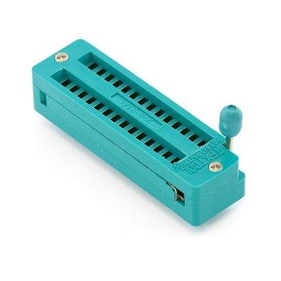 ZIF Socket 28 Pins, Smal