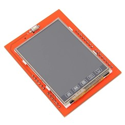 """2.4"""" Touch Screen LCD Shield"""