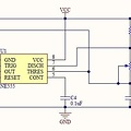 NE555 Mini frequentie pulse generator