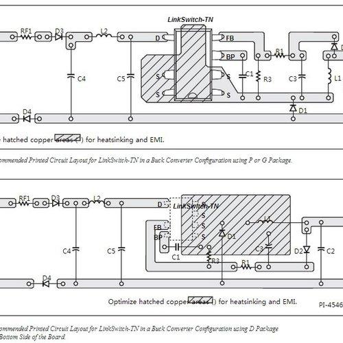 LNK304PN AC/DC Converter 170mA