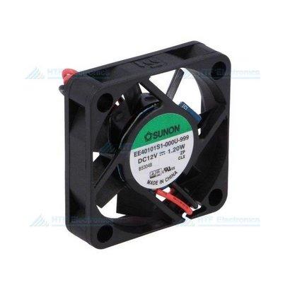 Borstelloze Ventilator 40x40x10mm 12V DC