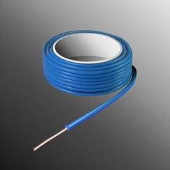 Project Draad H05V-U 2,5 x 0,5mm², Massieve Kern, Brand Vertragend - Blauw