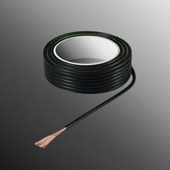 Project Draad H05V-K 2,5 x 0,5mm², Multivezel Kern, Brand Vertragend - Zwart