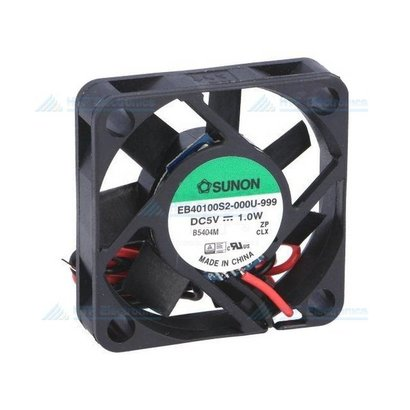 Borstelloze Ventilator 40x40x10mm 5V DC