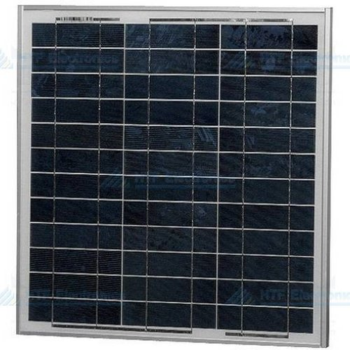 Polykristallijn Zonnepaneel 17,49V, 0,58A, 10W