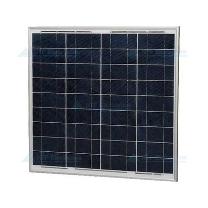 Polykristallijn Zonnepaneel 18,14V, 2,48A, 45W