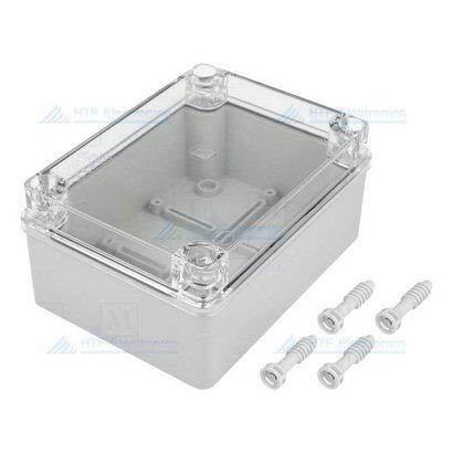 Project Behuizing 80 x 120 x 50 met transparante deksel