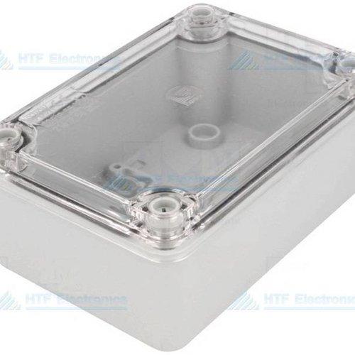 Project Behuizing 110 x 150 x 70 met transparante deksel