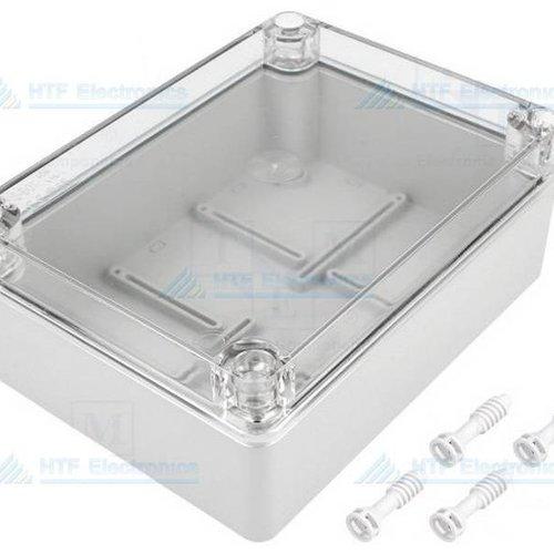 Project Behuizing 140 x 190 x 70 met transparante deksel