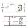 Accu Status Meter 12/24 Volt DC voor Lood of Lithium Accu's