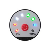 Accu Status Meter 8 tot 80 Volt DC, Programmeerbaar