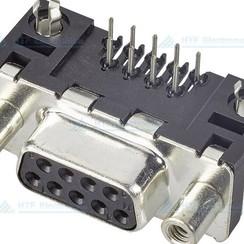 D-SUB Print Connector Female 9 Pin