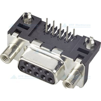 D-SUB Print Connector Female 9 Pin